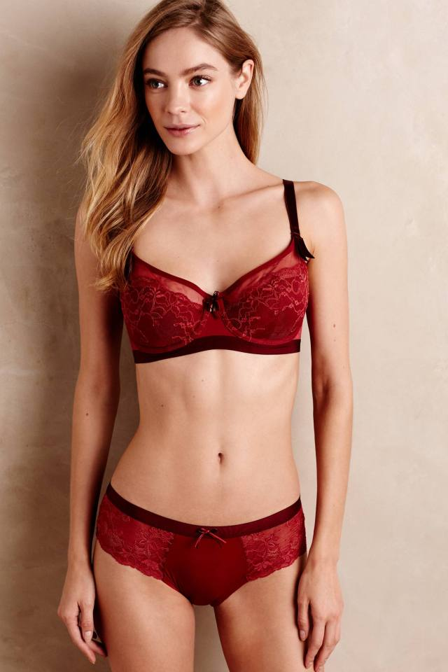 Ruby Lace Hipsters by Triumph