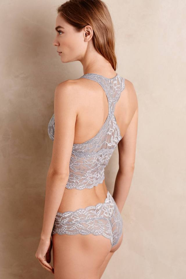 Long-Line Lace Bra by Clo Intimo