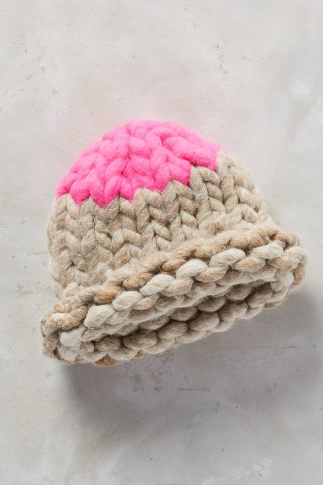 Rose-Capped Beanie by Loopy Mango