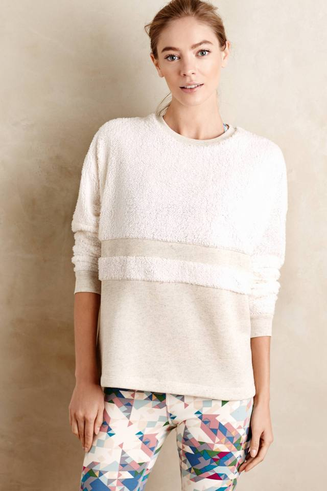 Feye Sherpa Pullover by Bella Luxx