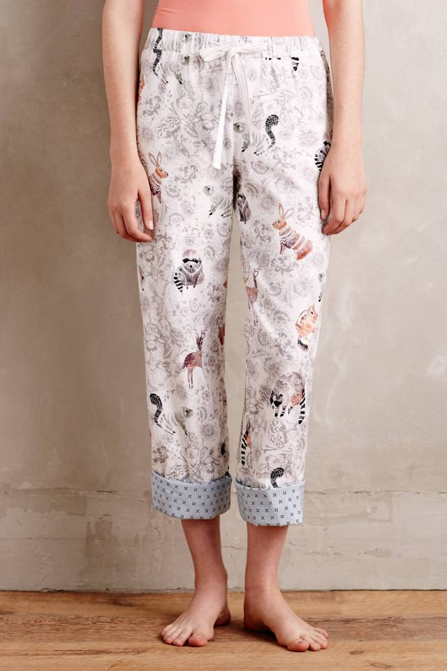 Racoon Reverie Sleep Pants by Lilka