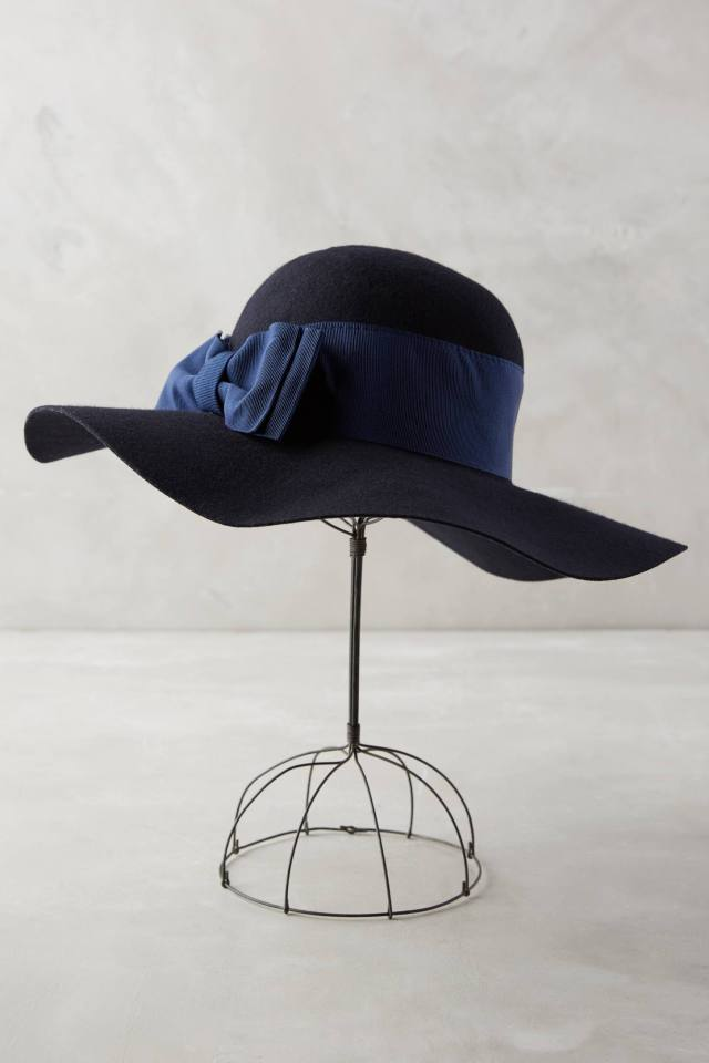 Maeline Floppy Hat by Helene Berman London