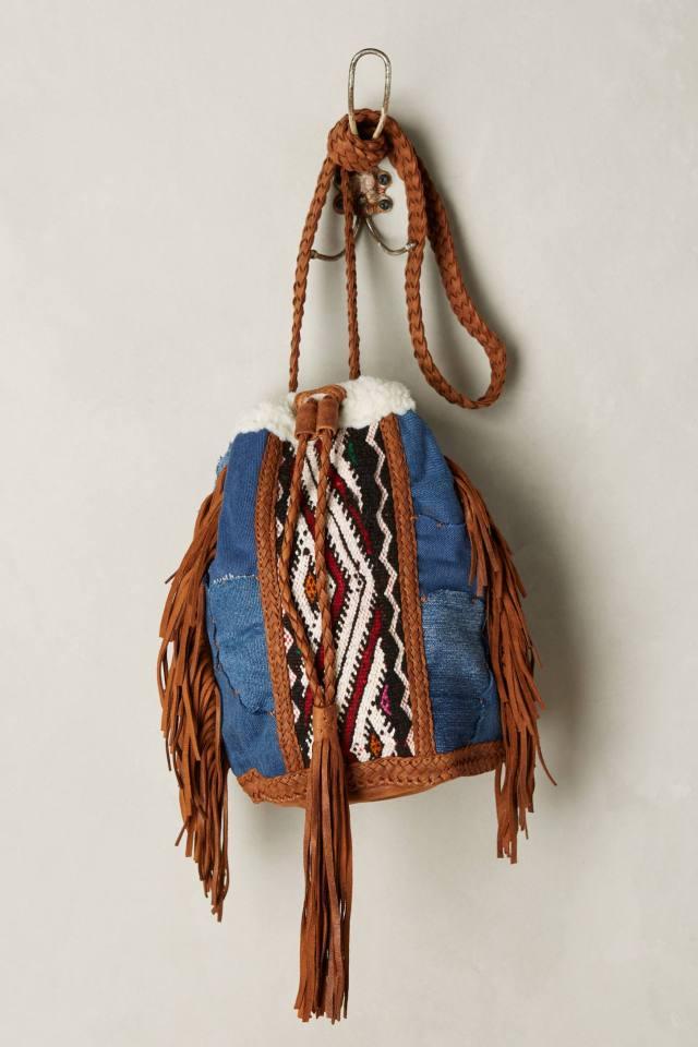 Rocio Embellished Bucket Bag by En Shalla