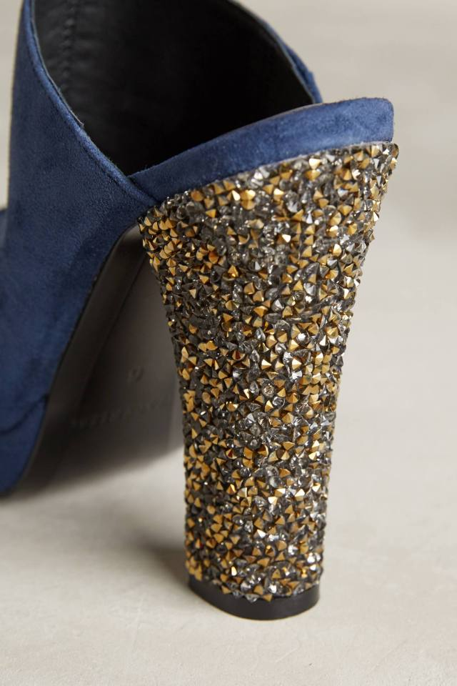 Peeptoe Mules by Tracy Reese