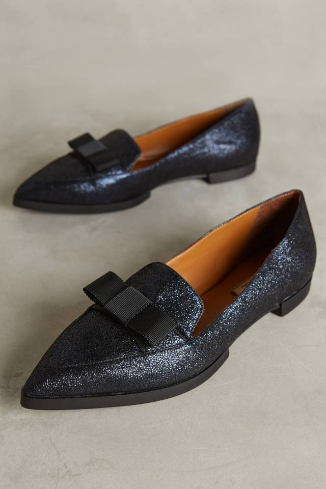 Pointed Loafers by Della Pia