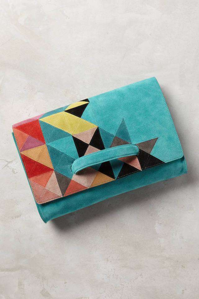 Tangram Clutch by Jasper & Jeera