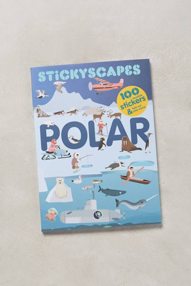 Stickyscapes Adventure Book by Chronicle Books