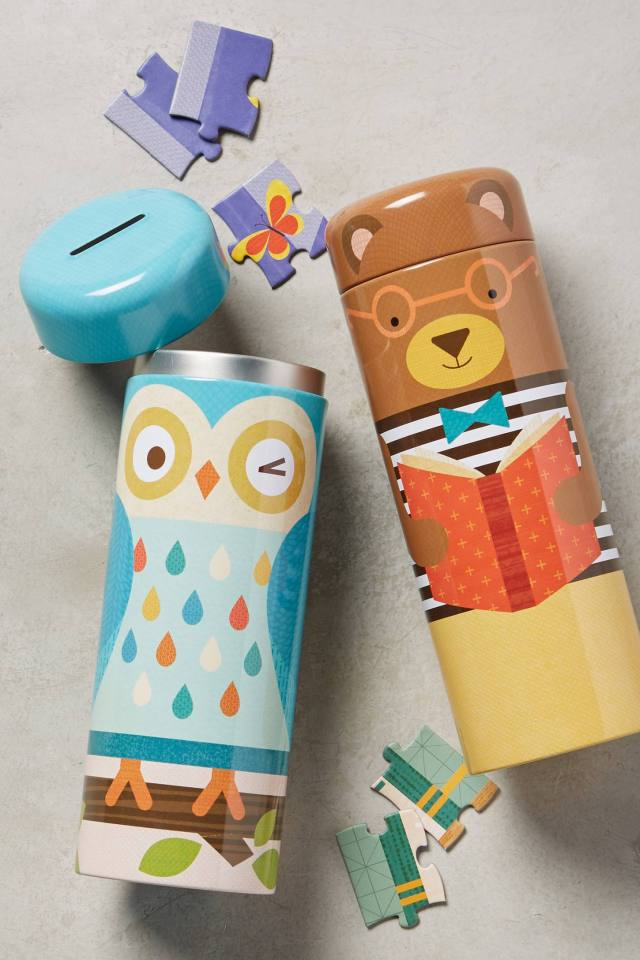Tin Canister Puzzle by Petit Collage