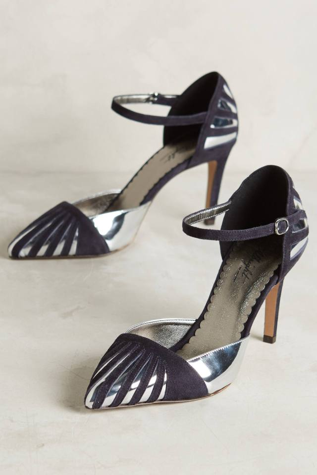Deco D'Orsay Heels by Miss Albright