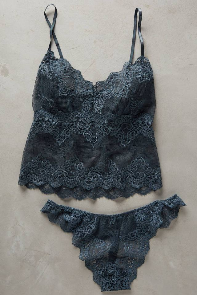 Cropped Lace Cami by Oh Oh So Fine