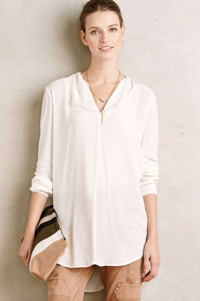 Minimalist Tunic by Velvet by Graham and Spencer