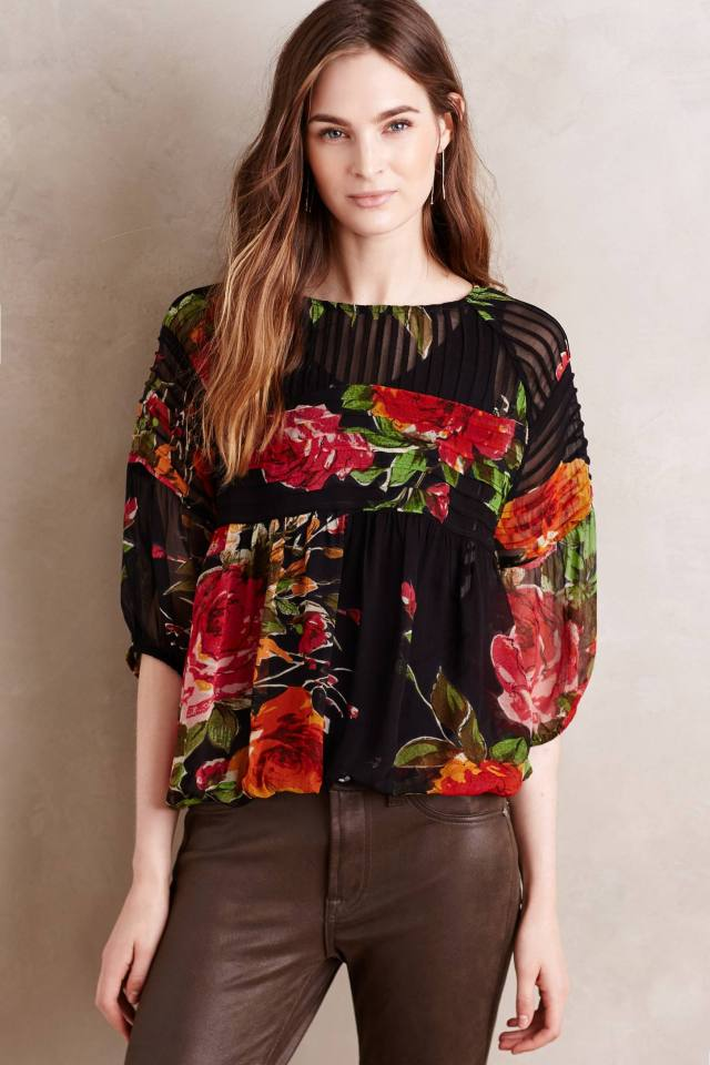 Fioritura Peasant Top by One Fine Day