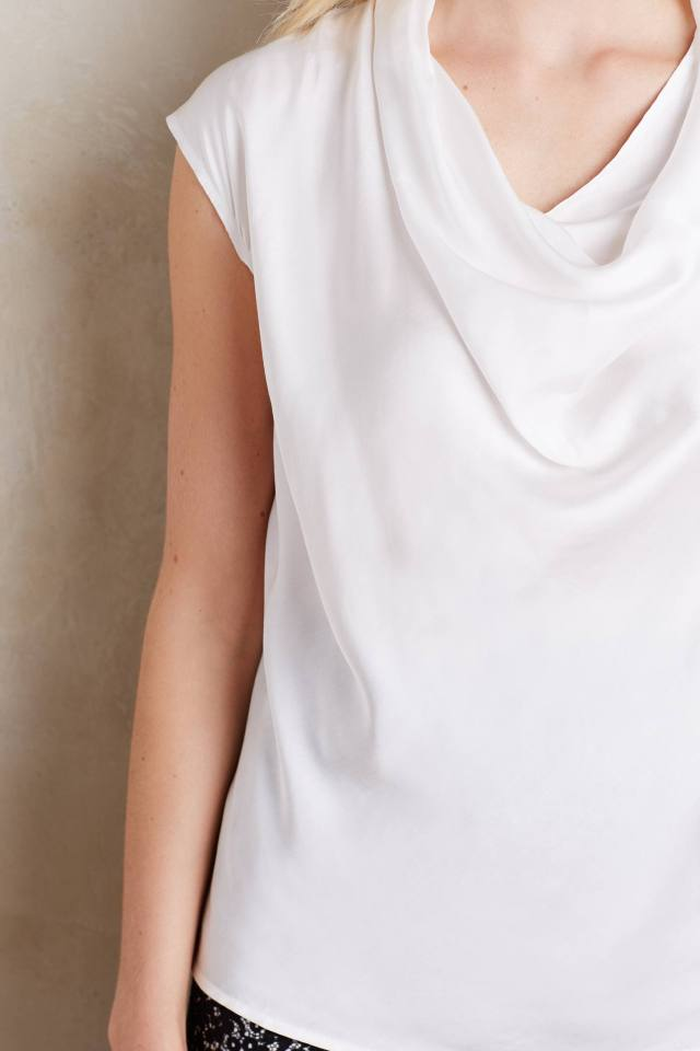 Linnea Cowl Tee by Bordeaux