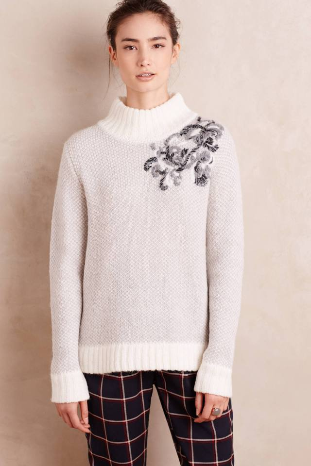 Embroidered Mosippa Pullover by Tabitha