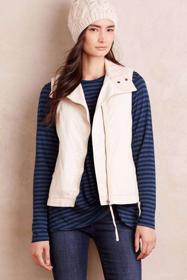 Washed Sherpa Vest by Marrakech