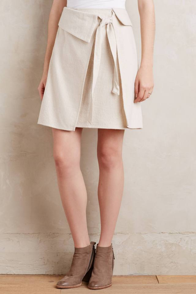 Wrapped Mini Skirt by Atelier Delphine
