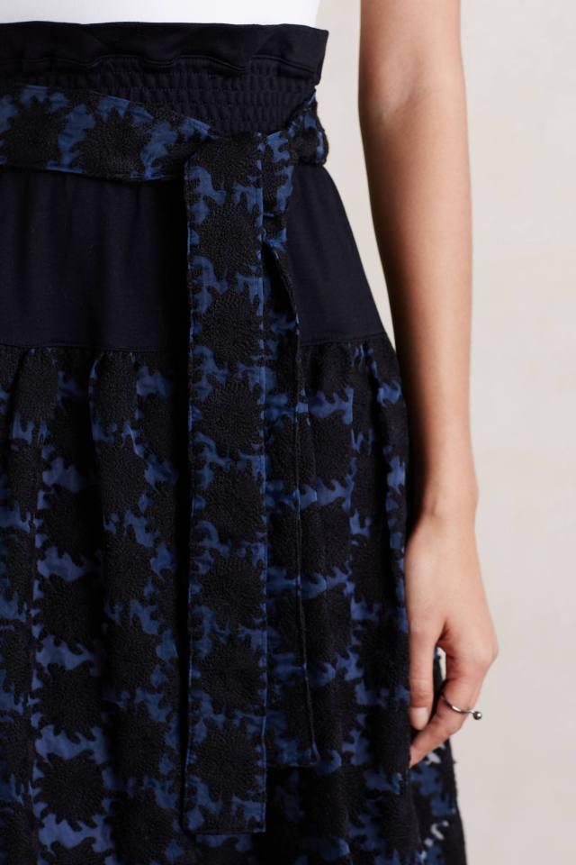 Hana Lace Midi Skirt by Tsumori Chisato