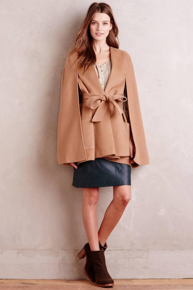 Mossed Vegan Leather Mini Skirt by Myne