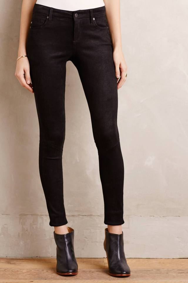 Suede Legging Jeans by AG
