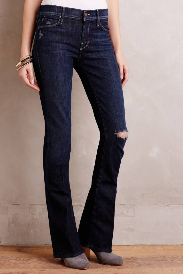 Runway Flare Jeans by Mother