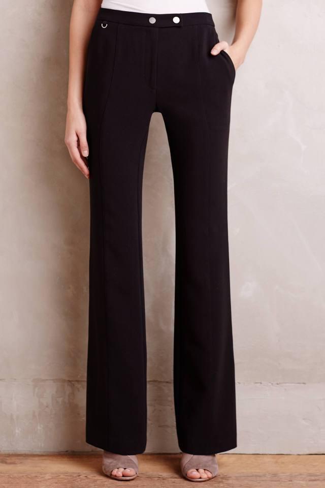 Flared Elementary Trousers by Elevenses