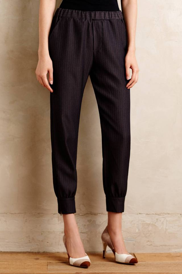 Pinstripe Joggers by Amadi