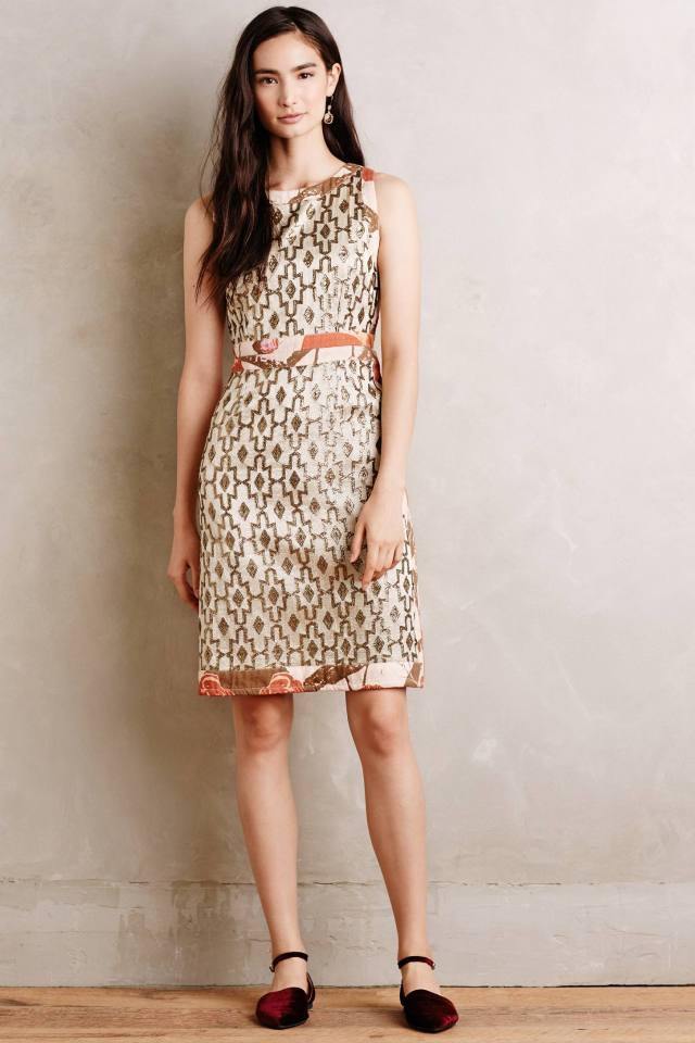 Anatolia Brocade Dress by Korovilas