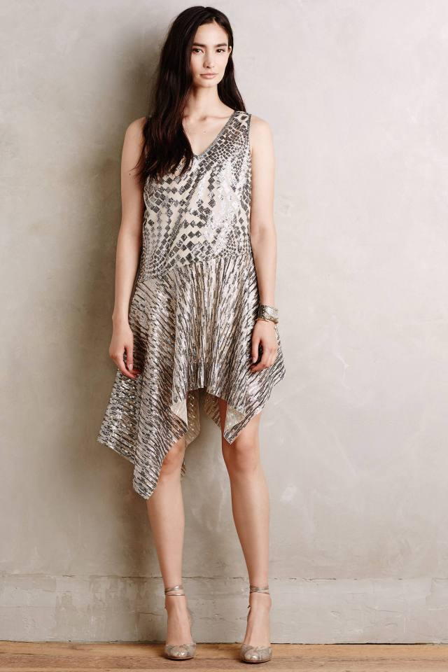 Perseid Sequin Dress by Anna Sui