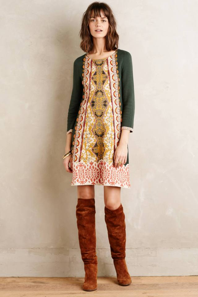 Lanka Tunic Dress by Knitted & Knotted
