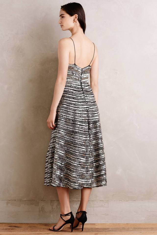 Caria Beaded Slip Dress by Tracy Reese