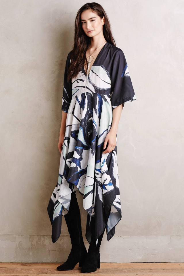 Folium Kimono Dress by Shakuhachi