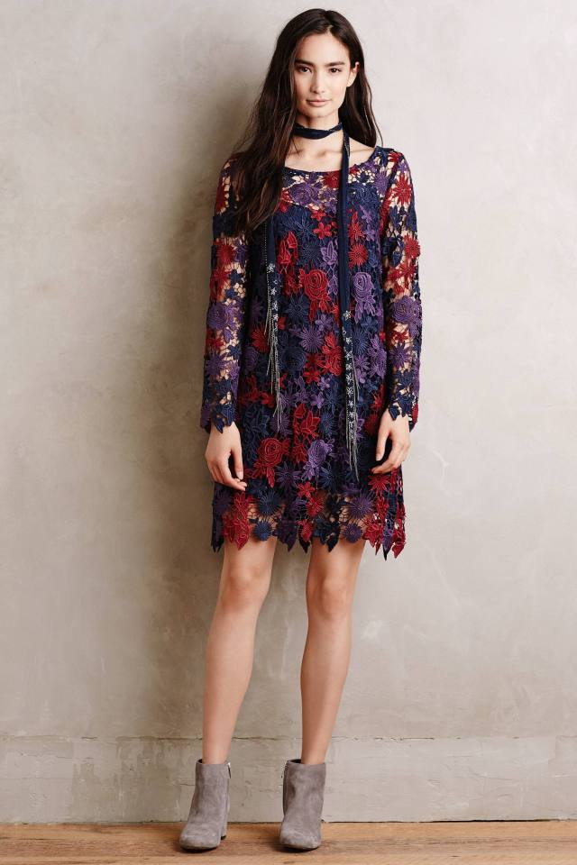 Harvest Blooms Dress by Moulinette Soeurs