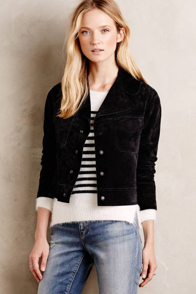 Natalie Suede Jacket by Citizens of Humanity