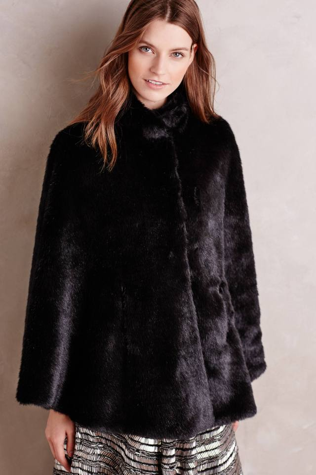 Eastport Faux-Fur Cape