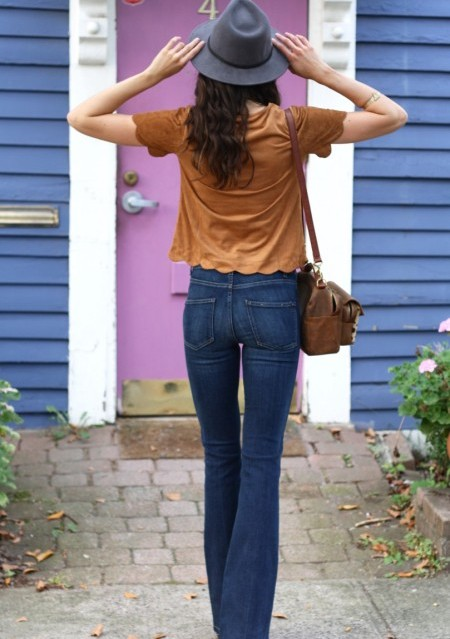 High-Rise Bell Canyon Flare Jeans by Paige