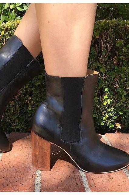 Zelda Chelsea Boots by Nina Payne