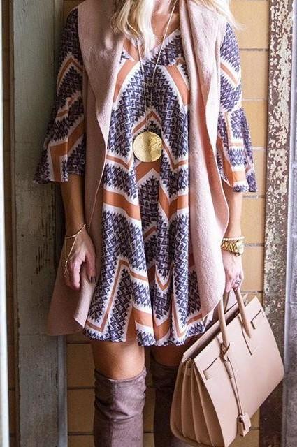 Endora Swing Dress by Paper Crown