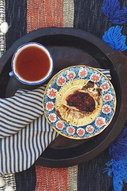 Woodland Picnic Dessert Plate by Cornelia O'Donovan