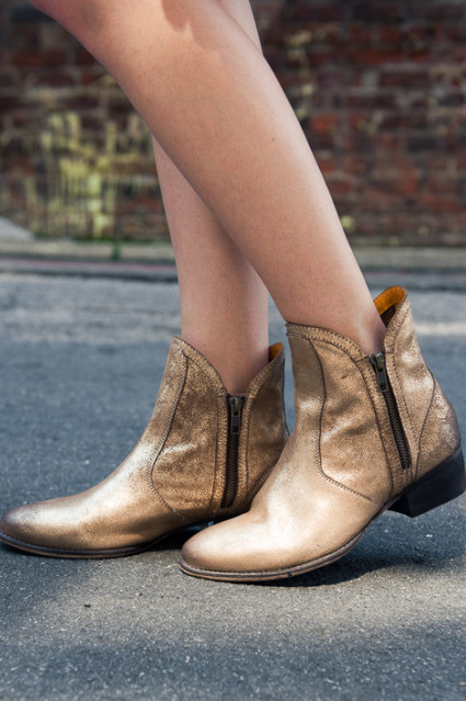 Lucky Penny Booties by Seychelles