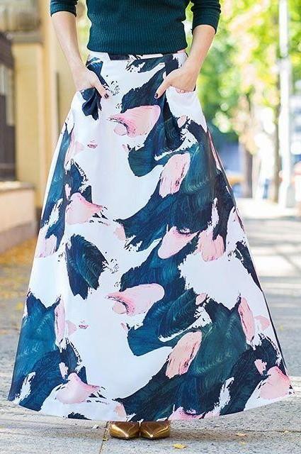 Pintura Maxi Skirt by TY-LR