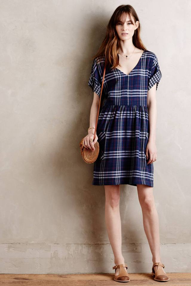 Plaid Acreage Dress by Holding Horses
