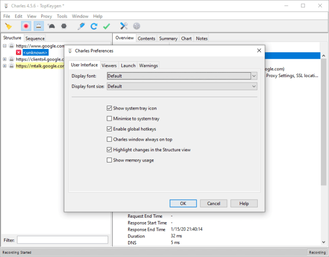 Charles Proxy 4.5.6 License Key + Patch {2020} Free Download