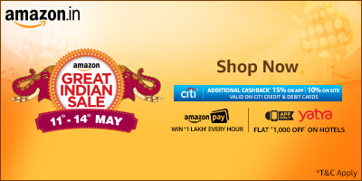 Amazon Great Indian Sale: New Offers On ipads, Samsung Galaxy On7 Pro And Other Deals