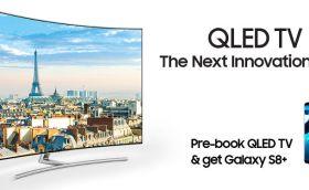 Samsung-QLED-TV-India-pre-booking-free-S8-topkhoj