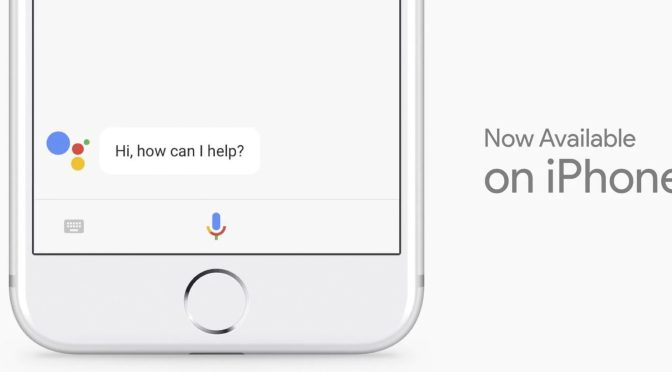 Google Announced Google Assistant for iPhone