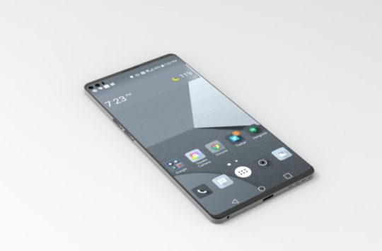 LG V30 with A Glass Back and Support Wireless Charging