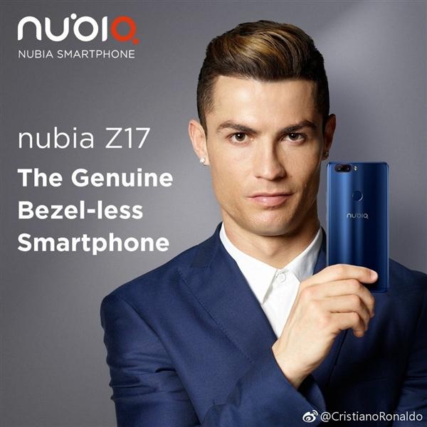 nubia z17 first look c ronaldo