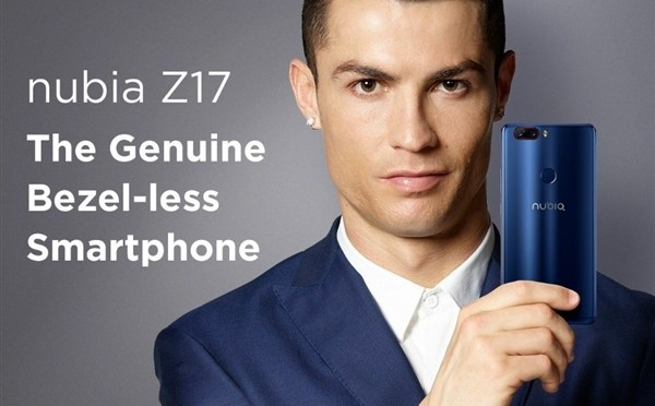 Nubia Z17 First Look By C. Ronaldo