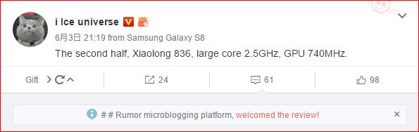 new qualcomm flagship chip snapdragon 836