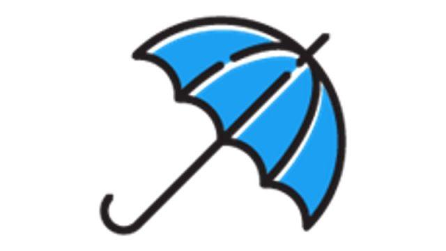 blue umbrella emoji twitter users enjoy monsoon season